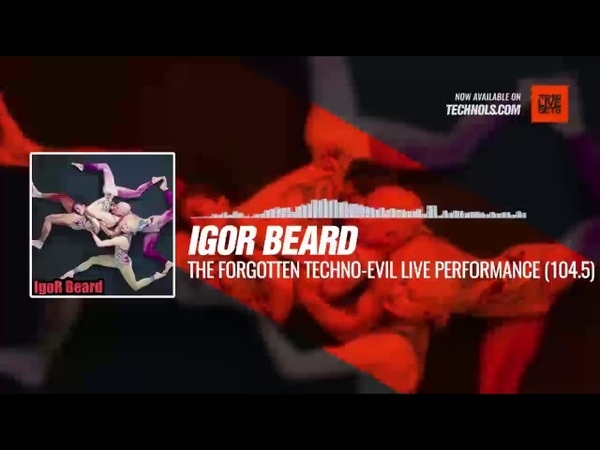 Igor Beard @BestProTop - The Forgotten Techno-Evil Live Performance at 104.5 FM Periscope