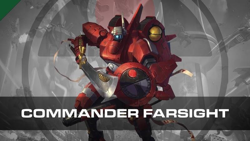 Commander Farsight | Warhammer 40,000 | Dossier