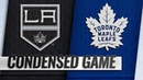 10/15/18 Condensed Game: Kings @ Maple Leafs