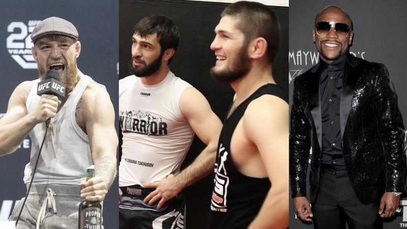 Фанаты Конора оскорбляют семью бойца UFC, Хабиб о Зубайре в UFC, гонорар Флойда за бой с Хабибом