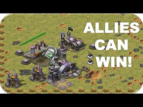 Allies Can Win in Extra Small Map Red Alert 2