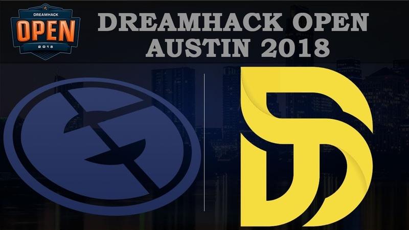 EG vs Disrupt Map2 | Rainbow Six VODs | DreamHack Austin 2018 (02.06.2018)