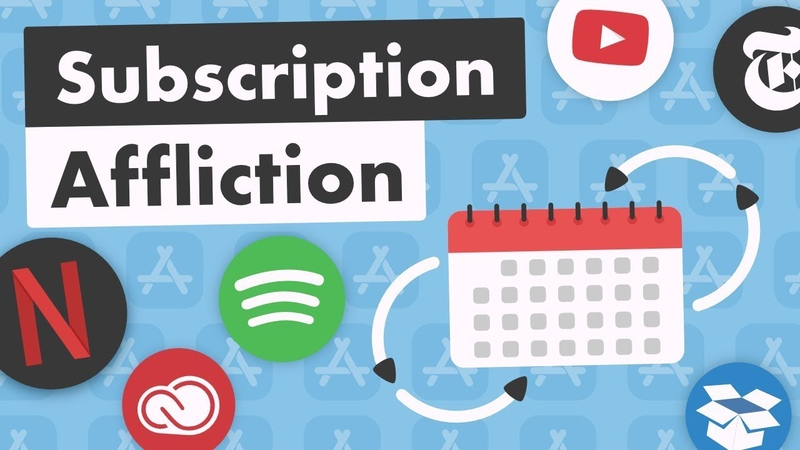 Subscription Affliction Everything is $10 month