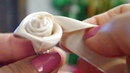 Come fare una rosa con nastro di raso