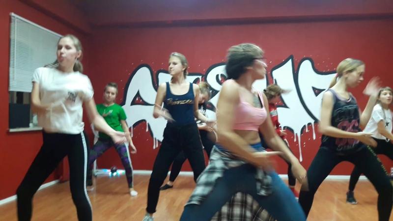 JAZZ-FUNK c Eкатериной Кит школа танцев RISE_UP