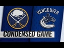 Buffalo Sabres vs Vancouver Canucks | Jan.18, 2019 | Game Highlights | NHL 2018/19 | Обзор матча