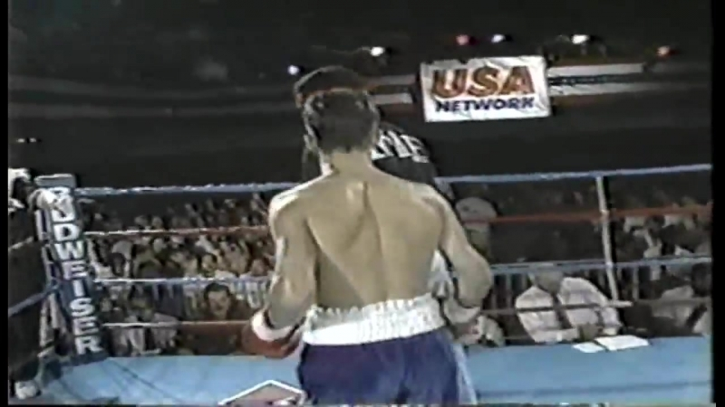 Arturo Gatti vs Luis Melendez. Boxing History. 1991.07.09.
