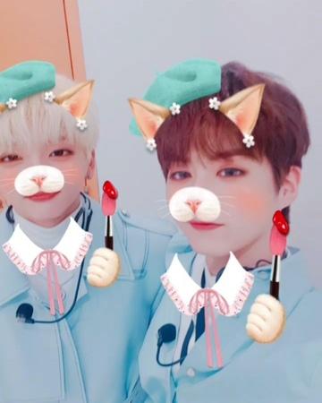 "ONEUS on Instagram "". [서호 시온] 서호의 막내 놀아주기 3 (난 너무 착한 거 같아ㅎㅎ)"""