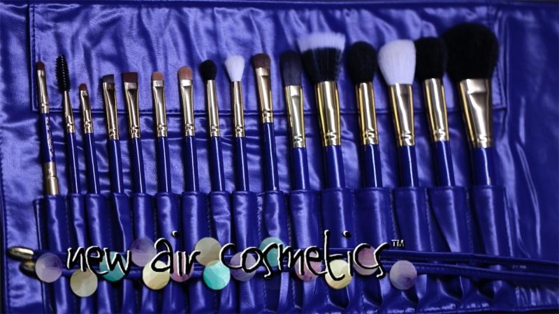 Набор кистей для макияжа New Air Cosmetics