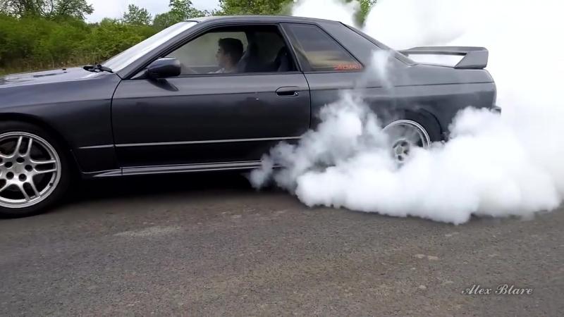 [Alex Blare Культовые автомобили.] Nissan Skyline GTR Скайлайн ЛУЧШЕЕ ЧТО СОЗДАВАЛА ЯПОНИЯ.