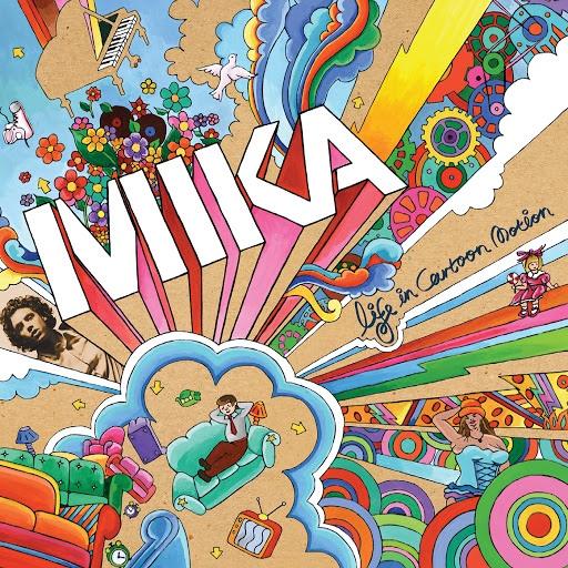 Mika альбом Life In Cartoon Motion (UK eDeluxe Album)