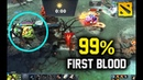 How To Get First Blood 99% Of Time With Pudge Radiant Side Dota 2