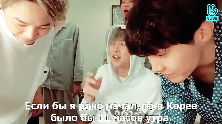 12 09 2018 Ким НамДжун RM of BTS RUS SUB
