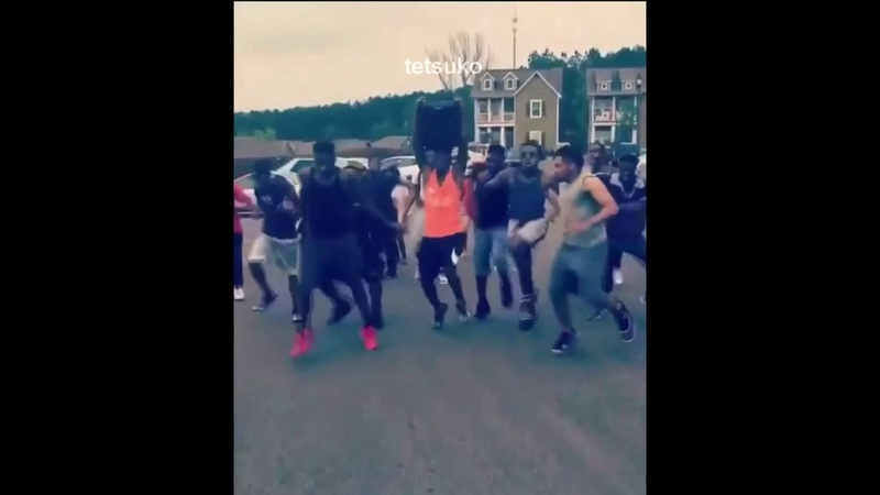 Black people dancing to Anime ReRe Asian Kung Fu Generation