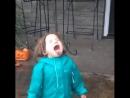 дети радуются дождю...♡