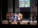 Губернаторский Театр танца Сибирский Калейдоскоп с номером в программе с Надеждой Бабкиной.