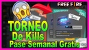 🎁 Enviando Premios【A GANADORES DEL TORNEO DE KILLS】▷ Free Fire, Pase Semanal Gratis 👀👏
