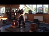 Дмитрий Тимофеев тяга 320 кг с плинтов 9 см
