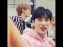 🐶❤🐰 WH to MH : Kenapa kau menatapku seperti itu?? ©Wonderwall WonHyukInYourArea - Shin Hoseok 💘 Lee Minhyuk 💙💚💛💜 . . . . MONST