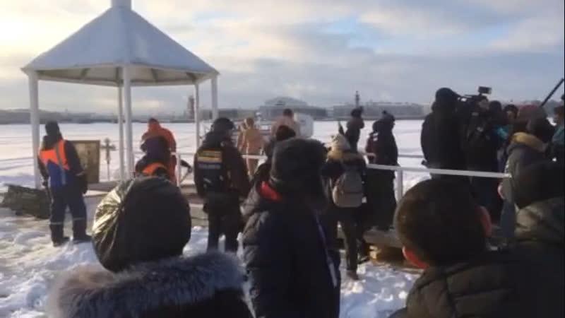 Крещение. Петропавловская крепость