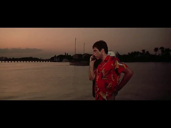 Scarface (1983) - Tony calls Omar after the Columbian drug deal