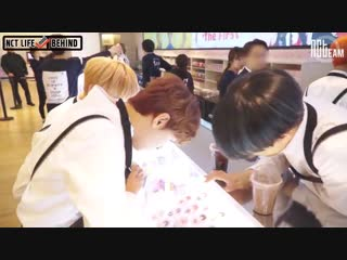 [РУС.СУБ] 170317 NCT DREAM White Day Event 2 @ NCT Life Mini Behind