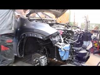 #Zig Zag Полезно знать - Lexus NX 200 ремонт бока кузова