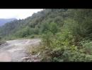 По дороге домой с водопадов через Ткуарчал