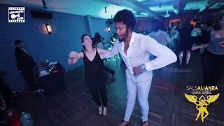 Terry SalAlianza Marianna - social dancing @ SalsAlianza Dance School