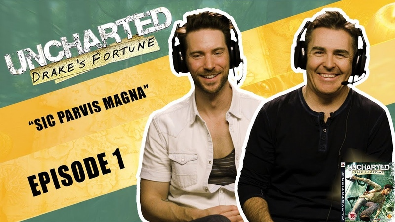 EP1 Uncharted Drake's Fortune The Definitive Playthrough ft Nolan North Troy Baker