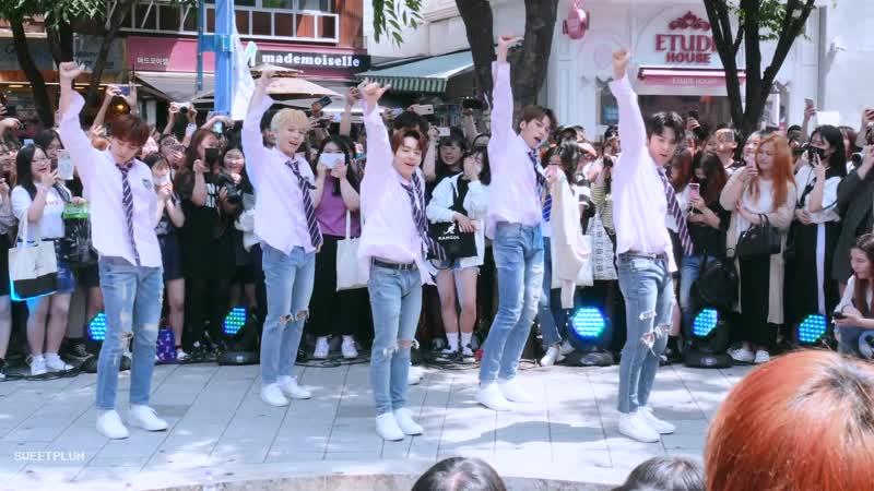 180526 알비덥보이즈 RBW Boyz - 나야나(PICK ME) Performance @홍대 버스킹 직캠 Fancam (4K)