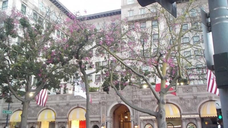 Отель из фильма Красотка Беверли Хиллз Beverly Hills Родео Драйв Rodeo Drive Лос Анджелес Los Angeles