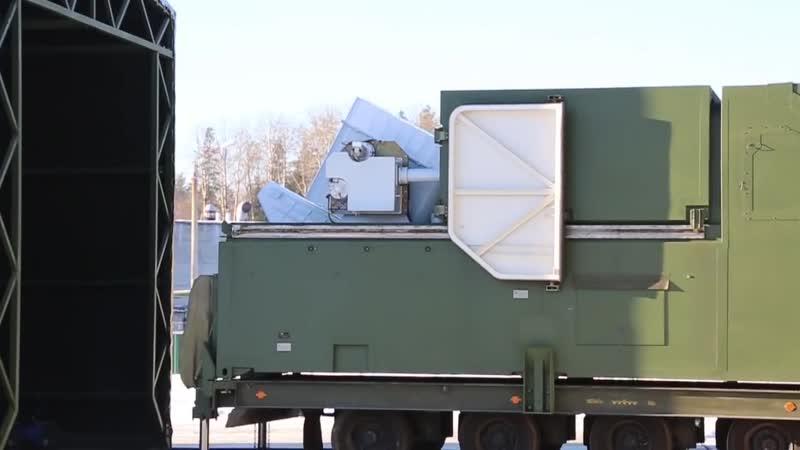 Лазерный комплекс Пересвет заступил на опытно-боевое дежурство