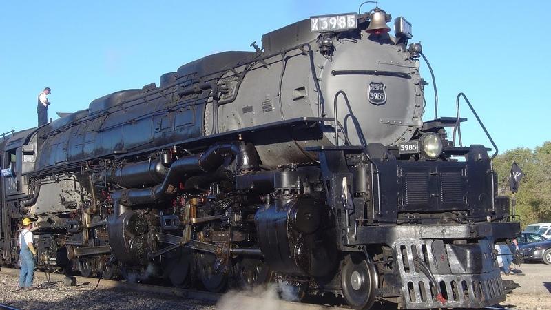 Мир техники Самые Мощные паровозы в истории