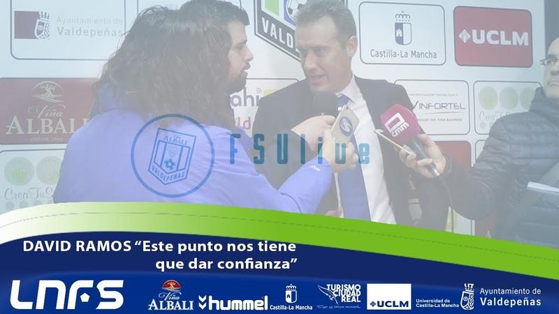 FSVlive| Tercer Tiempo | David Ramos: Este punto nos tiene que dar confianza