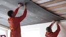 РУСПАНЕЛЬ. Утепление крыши изнутри панелями РПГ. - YouTube