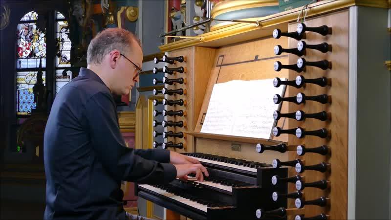 689 J. S. Bach - Chorale prelude Jesus Christus, unser Heiland, der von uns den Zorn Gottes wandt (Fugue) BWV 689 -Fritz Siebert