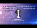 Чемпионат мира среди женщин 2018. 1/4 финала. Тай-брейк.