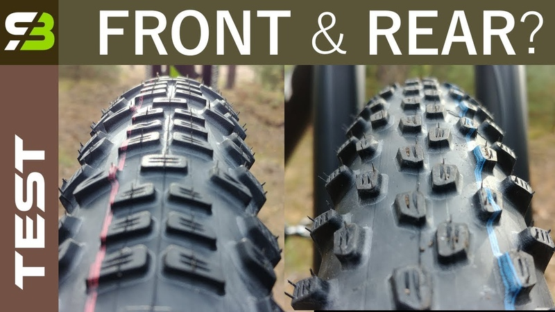 Rear Front Specific Tires? New Schwalbe Racing Ralph and Ray. Review.