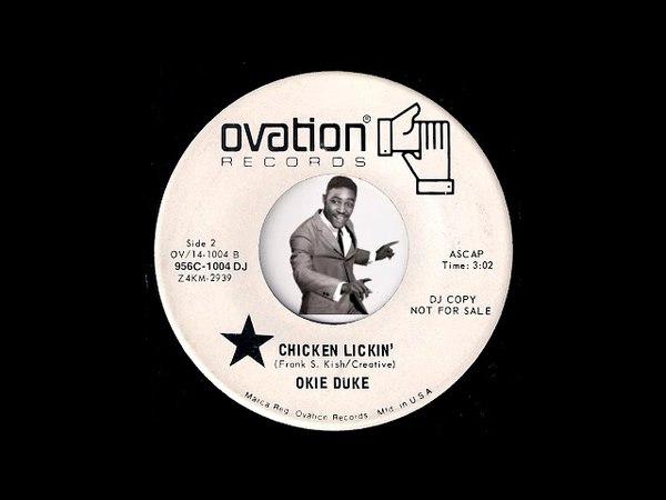 Okie Duke - Chicken Lickin [Ovation] 1971 Organ Funk 45