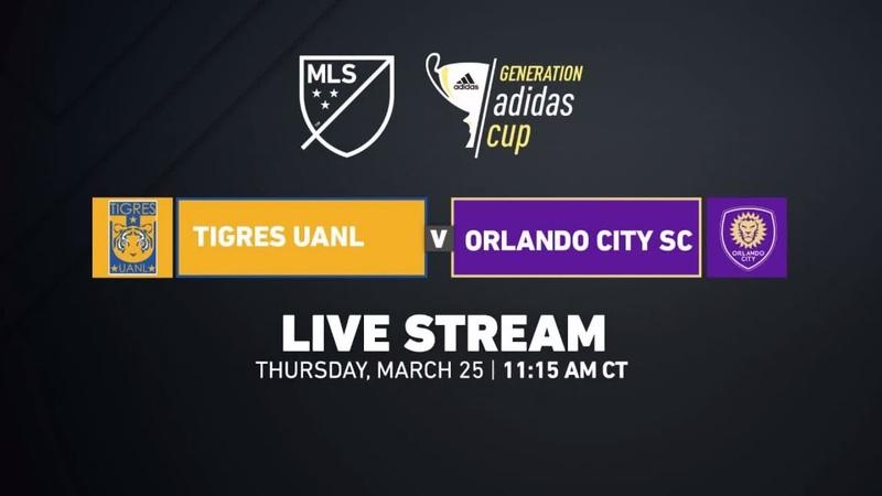 Tigres vs Orlando City - Premier Division | 2018 Generation adidas Cup