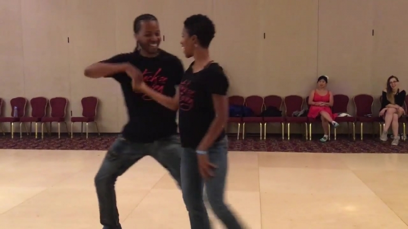 West coast swing demo by Markus and Tren