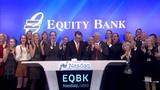 Equity Bank rings the Nasdaq Closing Bell! $EQBK