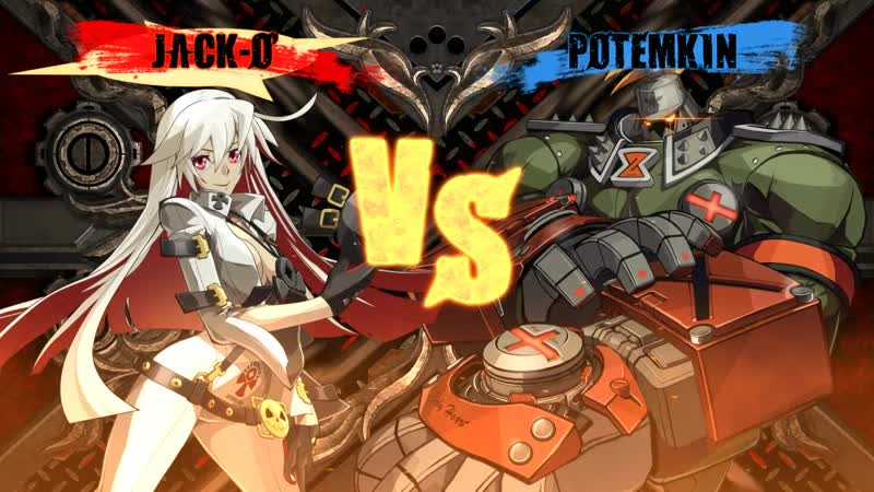 Akanai(Jack-O) vs Nkey(Potemkin) GuiltyGearXrd