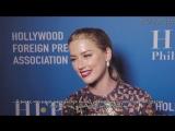Интервью Эмбер на банкете Голливудской ассоциации иностранной прессы (русские субтитры)