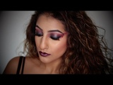 FALLEN ANGEL HALLOWEEN MAKEUP TUTORIAL- AS DARKNESS FALLS GLEAM AND DAILYMIX PARTY AnchalMUA