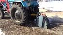 Фреза дорожная на трактор МТЗ 82