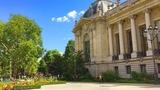 PARIS WALK Grand Palais and Petit Palais on Avenue Winston Churchill France