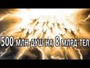 500 млн душ на 8 млрд тел Часть 2 Боги люди и роботы живут на Земле Андрей Тюняев