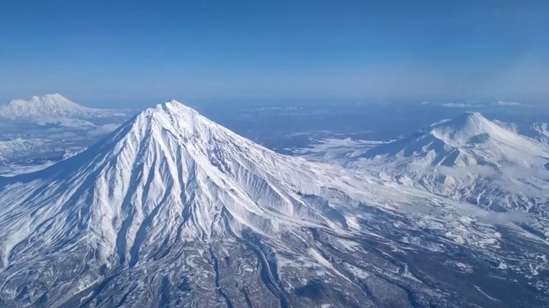 Камчатка Поездка на вулканы почти доехали